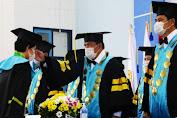 136 Siswa Politeknik Kelautan dan Perikanan Bitung Ikut Dalam Wisuda Secara Daring Yang Digelar Wahyu Trenggono