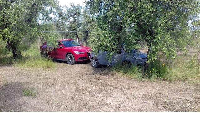 Cerignola, la Polizia ritrova due auto rubate e arresta i ladri