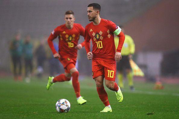 مشاهدة مباراة بلجيكا وكازخستان بث مباشر اليوم 13-10-2019 في تصفيات كاس الامم الأوروبية 2020