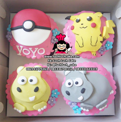 Cupcake Pikachu Pokemon Go