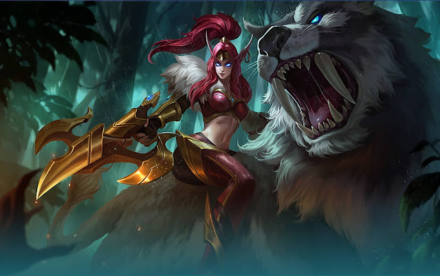 Irithel Jungle Heart Heroes Marksman of Skins Mobile Legends Wallpaper HD for PC