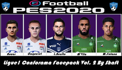 PES 2020 Facpack Ligue 2 by Shaft