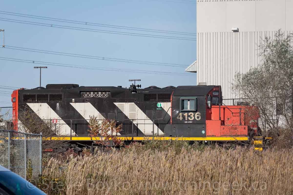 Confessions of a Train Geek: Kitchener Railfanning