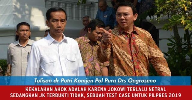 Ahok Kalah, Ini Surat Terbuka Untuk Presiden Jokowi Untuk Antisipasi Pilpres