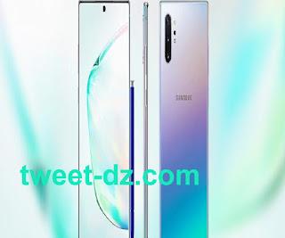 تصميم  Samsung Galaxy Note 10+ متوفر في انتظار الخصائص و السعر