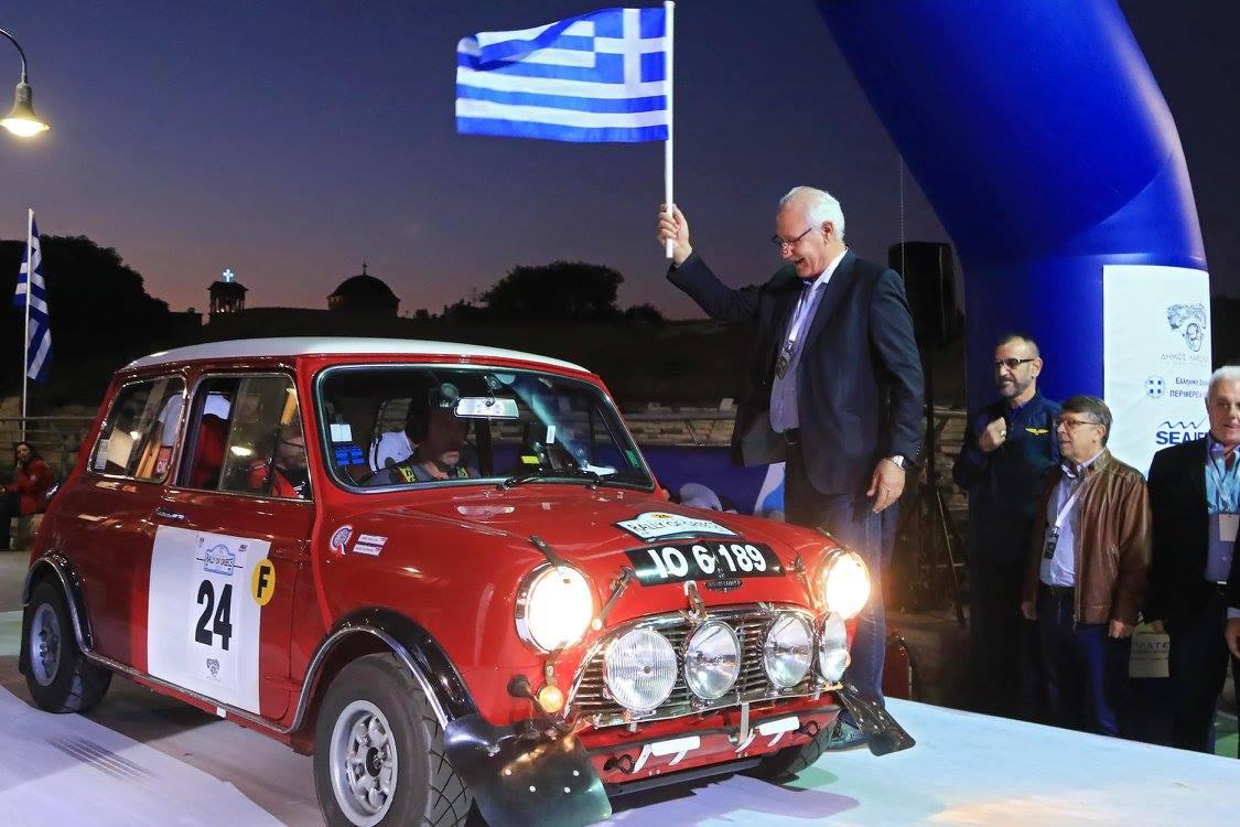 Καρό σημαία χθες το απόγευμα για το Ιστορικό Ράλι Ελλάδας 2017 από τη Λάρισα - Φωτογραφικά στιγμιότυπα (ΦΩΤΟ)