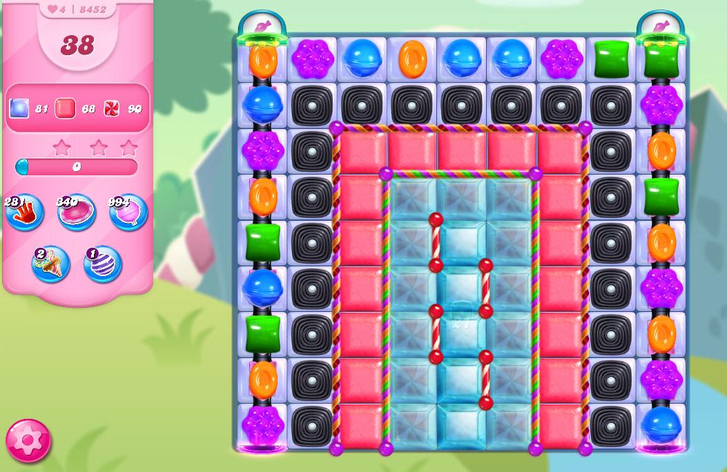 Candy Crush Saga level 8452