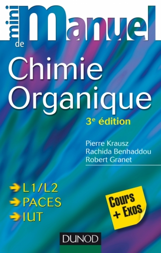 Livre Mini manuel de Chimie organique 3e édition