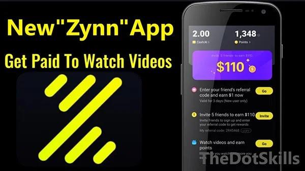 Zynn un nouveau concurrent de TikTok qui paye pour regarder.
