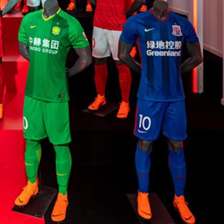 reputable site 1ea8b 9e335 All 32 Nike Chinese Super League 2018 Kits Released - Footy ...