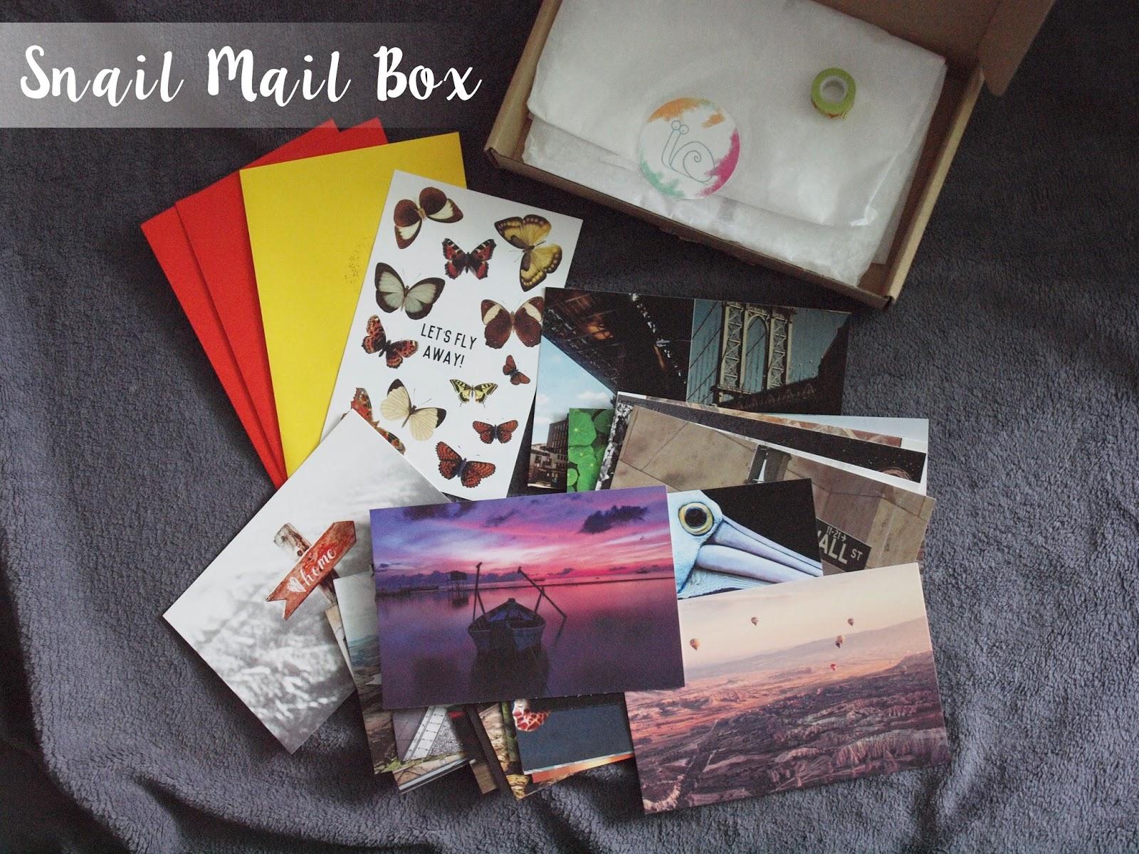 Nowy Snail Mail Box!