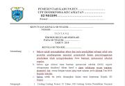 Contoh SK Tim BOS Reguler Terbaru
