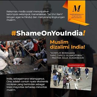 #ShameOnYouIndia