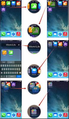Cara Membuat Folder Aplikasi di Home screen Android 4.0 atau versi Lebih Tinggi