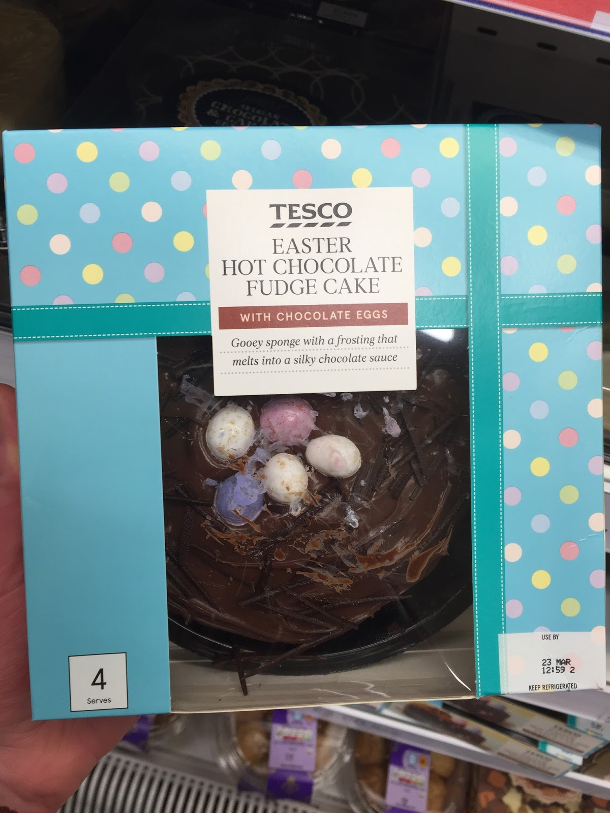 Tesco Hot Chocolate Fudge Cake