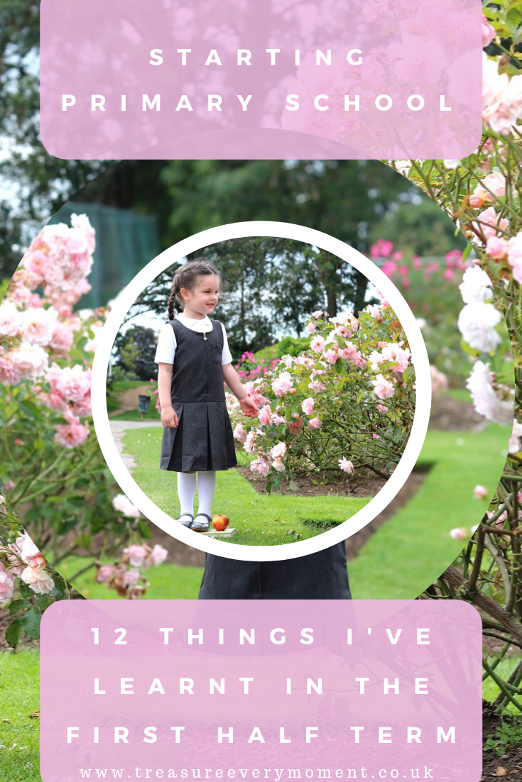 STARTING PRIMARY SCHOOL: 12 Things I've Learnt in the First Half Term
