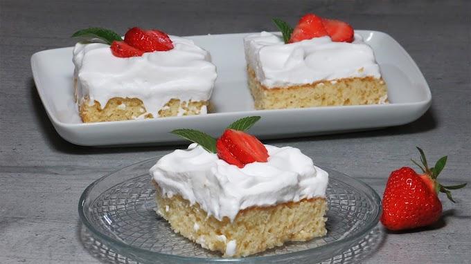 Prăjitura Tres Leches