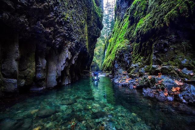 Oneonta ravine