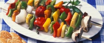 barbecue vegetable kebabs recipe