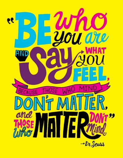 Be who you are-happy monday quotes