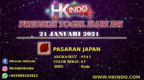 PREDIKSI TOGEL JAPAN HARI INI 21 JANUARI 2021