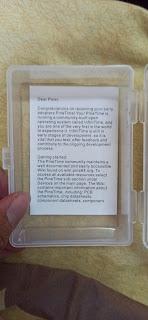 เอกสารสไสต์ PINE64 ในกล่อง PineTime Dev kit
