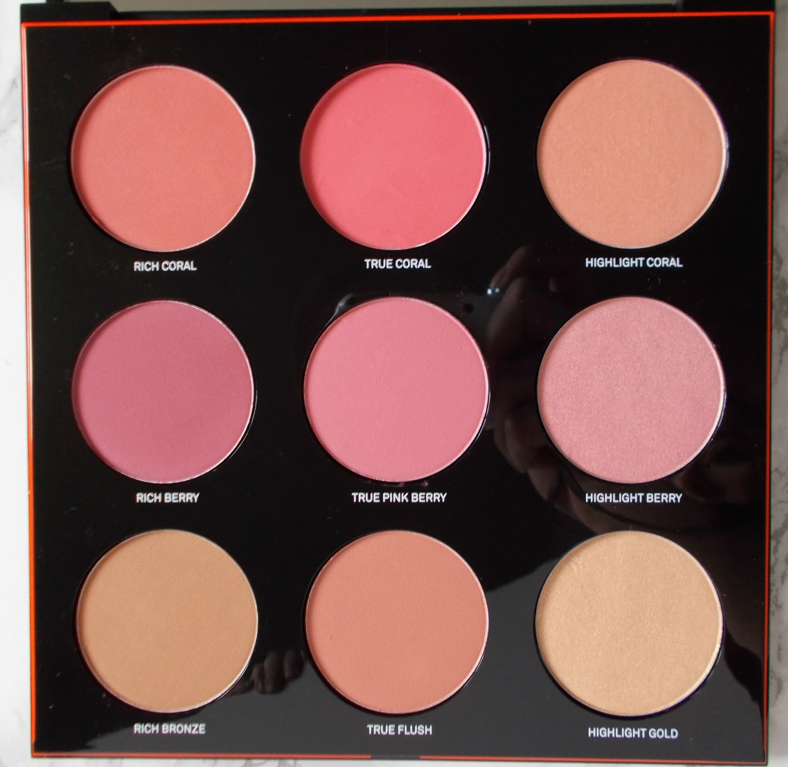 Smashbox Light it Up LA Lights Blush Mega palette review