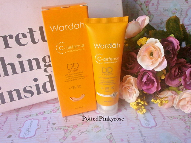 Potted Pinkyrose: Wardah C-defense DD Cream Review