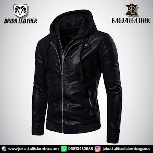 Jual Jaket Kulit Asli Garut Pria Domba Original Brida Leather B51   WA 08813430588