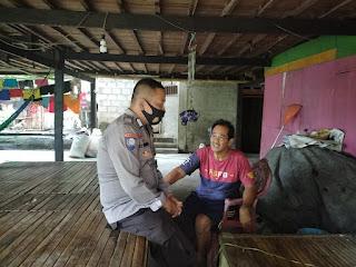 Bhabinkamtibmas Polsek Enrekang,Berikan Himbauan Kamtibmas Ke Warganya