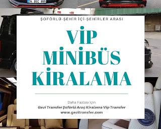 Şoförlü Araç Kiralama İzmir Şoförlü vip minibüs kiralama fiyatları Şehirler arası şoförlü Araç kiralama fiyatları