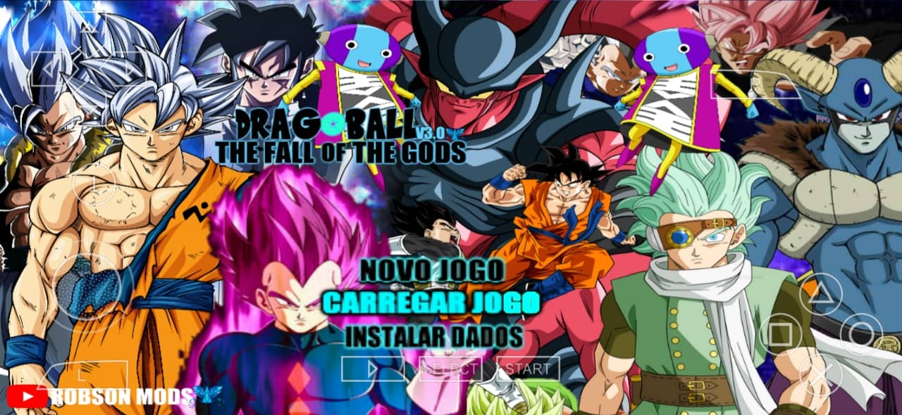 DBS The Fall Of The Gods DBZ TTT Mod Download