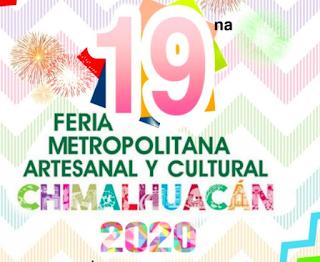 feria metropilitana artesanal chimalhuacán 2020