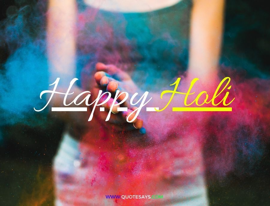 Happy Holi Colorful