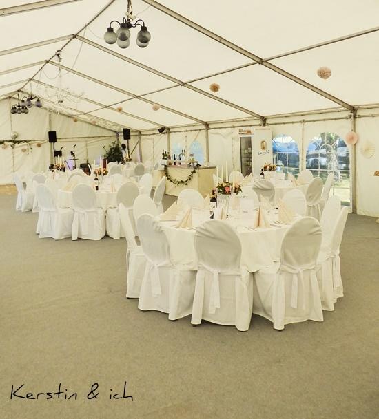 Hochzeit DIY Einblick Deko Hochzeitsdekoration