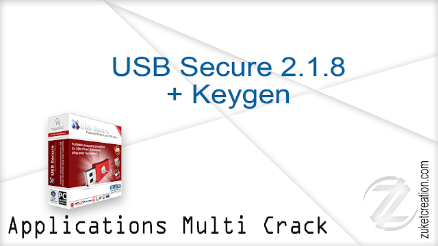 USB Secure 2.1.8 + Keygen