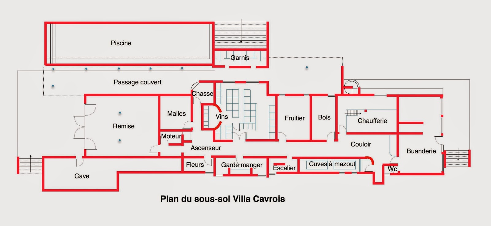 le blog des amis de la villa cavrois d couverte. Black Bedroom Furniture Sets. Home Design Ideas