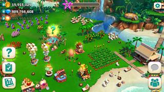 تحميل لعبة المزرعة Tropic Escape مهكرة نقود, ألماس لا نهاية