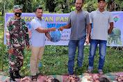 Gampong Gunong Panah Jual Daging Meugang Bersubsidi
