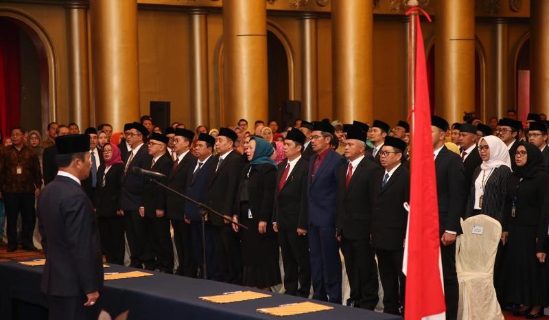 Peningkatan Optimalisasi Kinerja, Kepala BP Batam Lantik 278 Pejabat Eselon