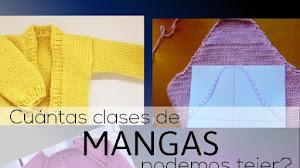 Cuántos tipos de mangas se pueden tejer