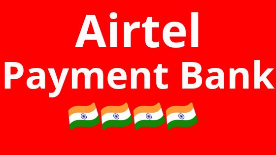 Airtel payment Bank
