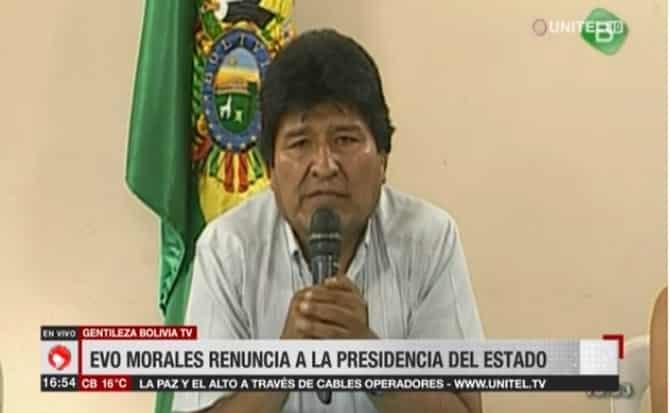 Cronología: Engaño del TSE duró tres semanas mientras crecía la resistencia en Bolivia