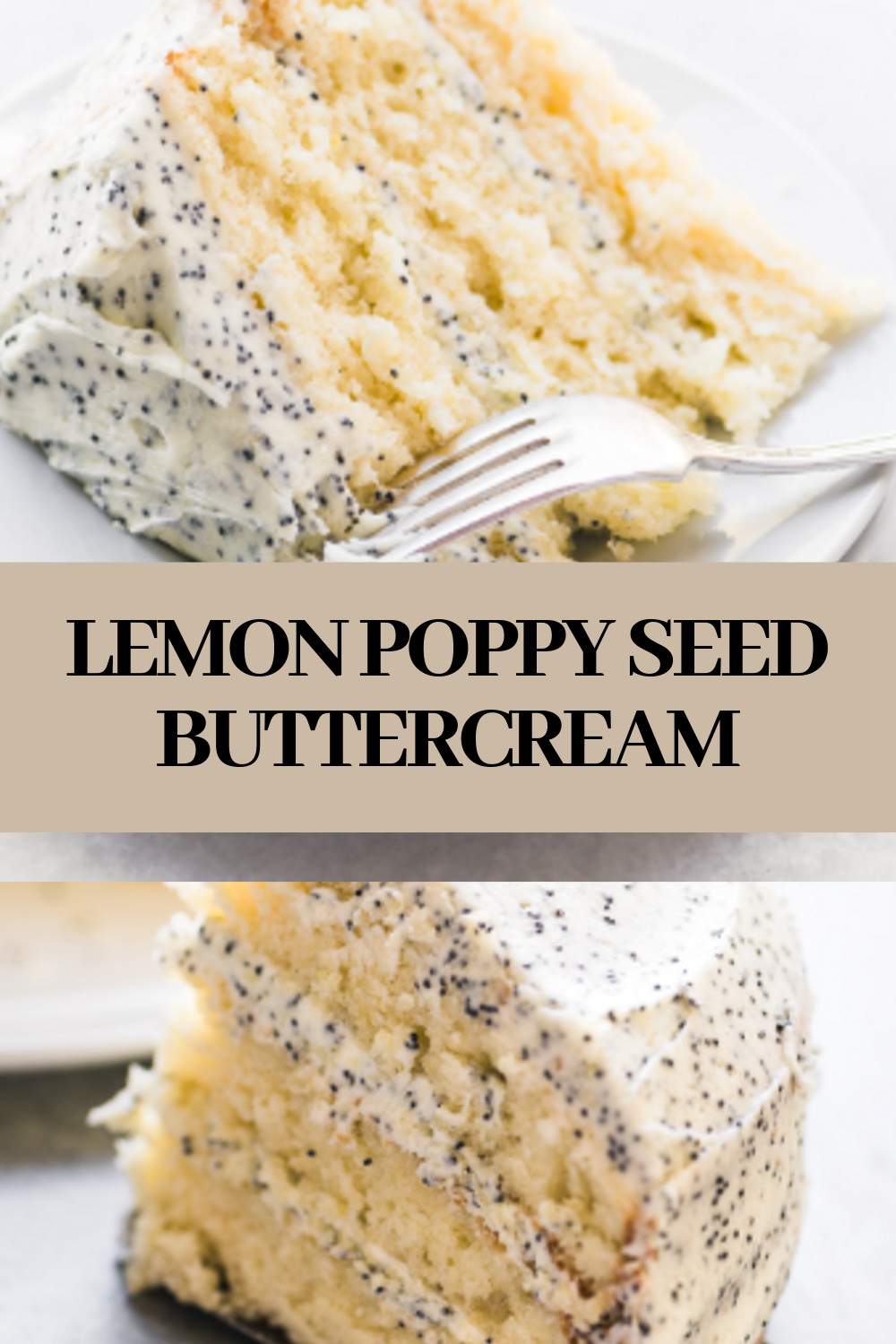 LEMON POPPY SEED BUTTERCREAM
