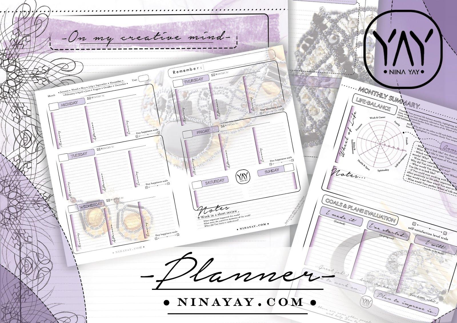 the highlights life planner yay by ninayay gemstone stone