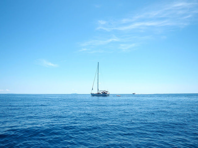 Sailing around the Dalmatian Coast Islands, Croatia