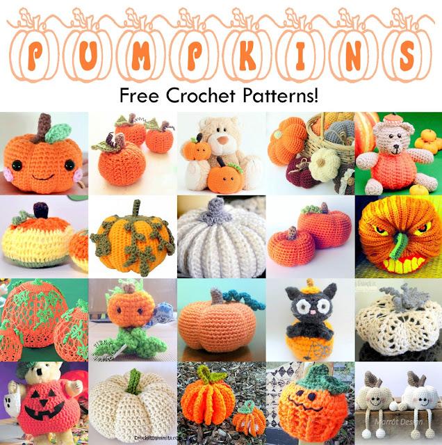 Crochet patterns for Halloween Pumpkins!