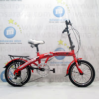 Sepeda Lipat Exotic ET20-2658-9 20 Inci