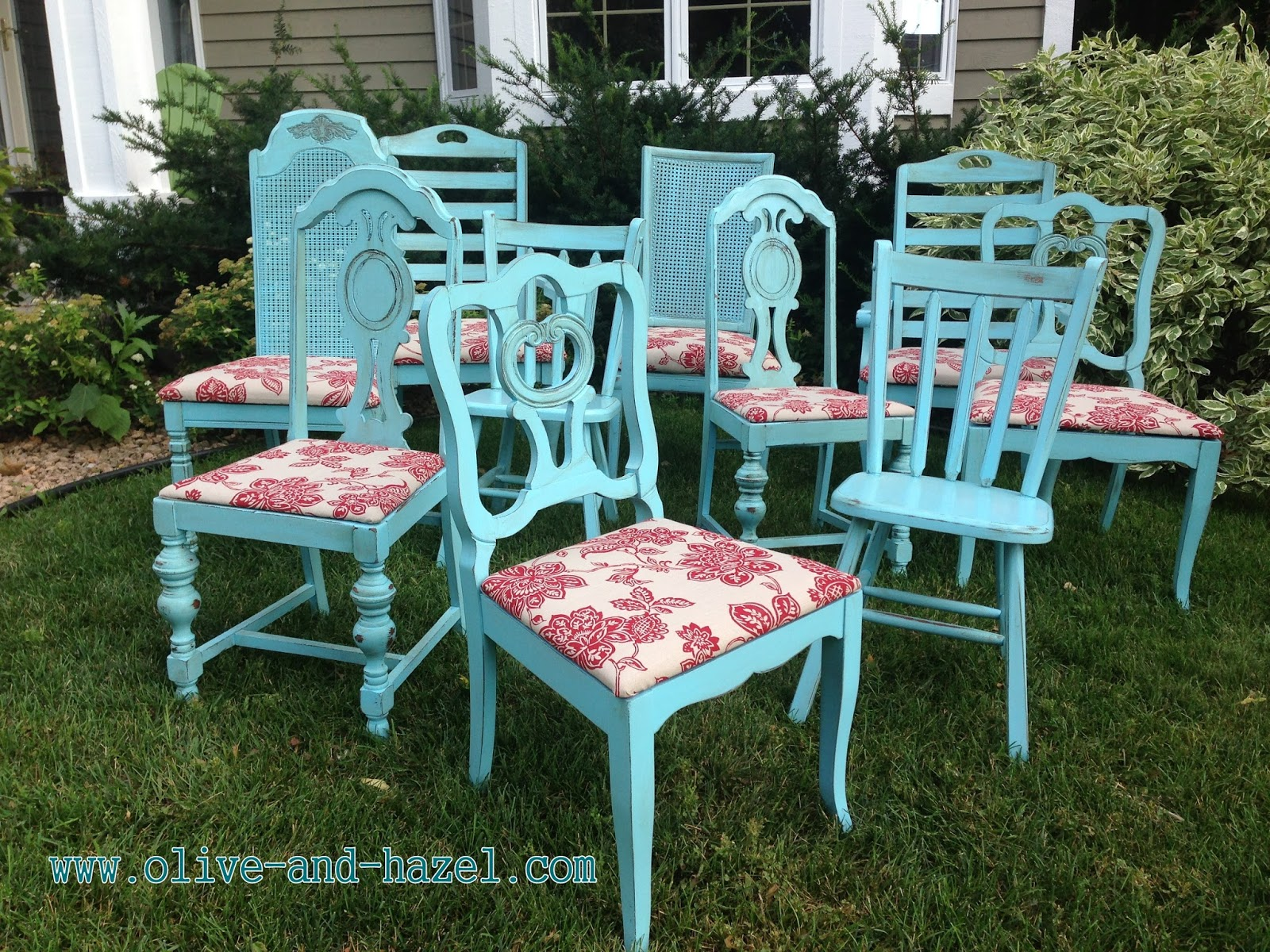 Mismatched Dining Chairs Chair Stand Test Protocol Olive 43 Hazel Decor Co Custom Teal