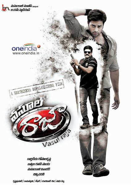 Poster Of Vasool Raja 2013 720p HDRip Hindi Dubbed Full Movie Download